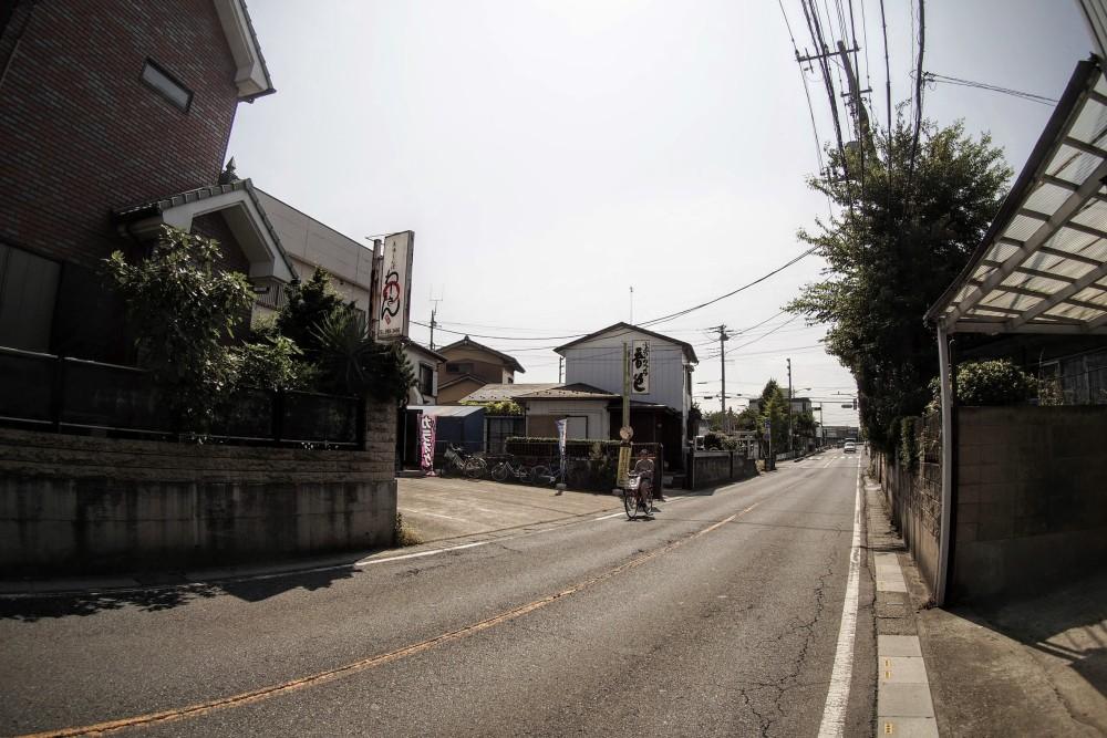 わーさん前の道路